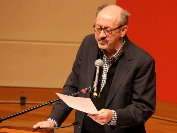 Billy Collins reads in Clowes Auditorium at Central Library (not Butler University) in Indianapolis.