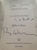 Aimless Love by  Billy Collins.