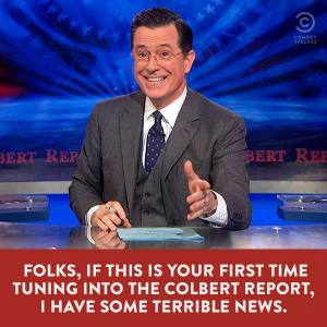 (via The Colbert Report facebook)