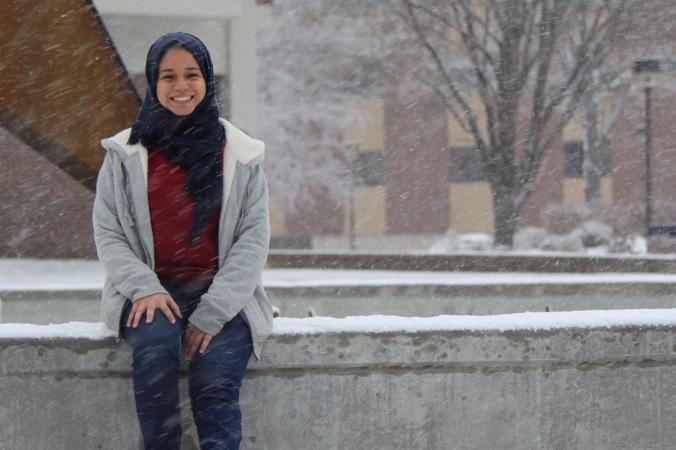 Minnesota State University student