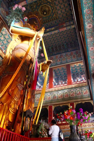 Buddha at Lama Temple, Beijing